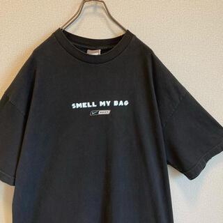 NIKE - 90s NIKE ビッグ Tシャツ XL ブラック ゆるだぼ vintage