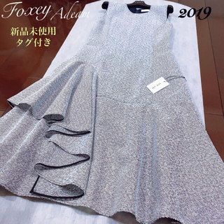 FOXEY - フォクシー アディアム ワンピース✨新品未使用タグ付き2019♪定価10万円超え