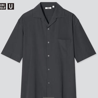 UNIQLO - オープンカラーシャツ/UNIQLO U