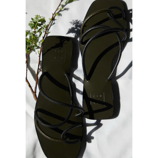 RIM.ARK Rope cross heel sandal