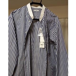 UNIQLO - 2021SSユニクロ+Jスーピマコットンスタンドカラーシャツ