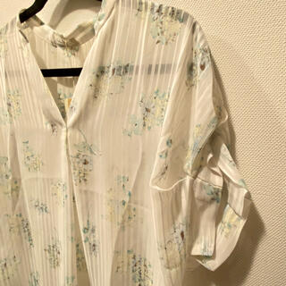 アーモワールカプリス(armoire caprice)の新品 アーモワールカプリス シースルートップス(シャツ/ブラウス(半袖/袖なし))