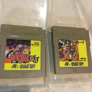 ゲームボーイ(ゲームボーイ)のSG42 ゲームボーイソフト ボンバーボーイとボンバーマンGBセット(携帯用ゲームソフト)