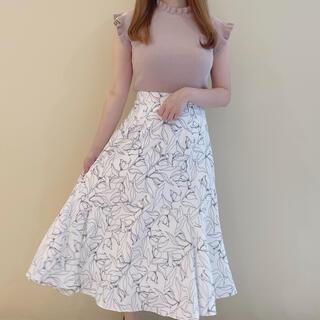evelyn - 新品 アンミール anmille フラワーラインスカート