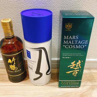 マース(MARS)のガイアフロー 越百マンサニージャ 竹鶴旧ラベル(ウイスキー)