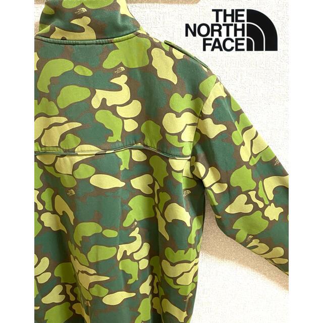 THE NORTH FACE(ザノースフェイス)の【希少デザイン】THE NORTH FACE ノースフェイス カモフラジャケット メンズのジャケット/アウター(その他)の商品写真