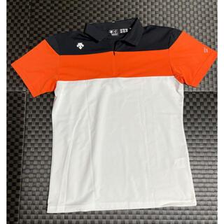 デサント(DESCENTE)のDESCENTE GOLF ポロシャツ M(ウエア)
