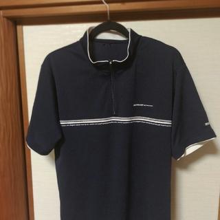 ダンロップ(DUNLOP)のDUNLOP  Motorsport  ジップアップシャツ L(ポロシャツ)