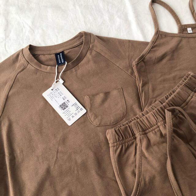 futafuta(フタフタ)の100 セットアップ Tシャツ パンツ キャミソール 3点セット 韓国子供服 キッズ/ベビー/マタニティのキッズ服男の子用(90cm~)(その他)の商品写真