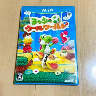 ウィーユー(Wii U)のヨッシー ウールワールド WiiU(家庭用ゲームソフト)