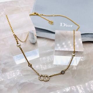 Dior - ★DIOR★ クレールディーリュヌ クリスタル ネックレス
