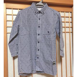 ILLS  メンズ シャツ チェック 7分袖