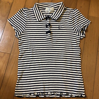 クミキョク(kumikyoku(組曲))のKUMIKYOKU  半袖ボーダーカットソー TM (140-150)(Tシャツ/カットソー)