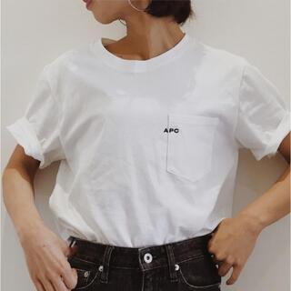 A.P.C - 【A.P.C./ アーペーセー】POCKET emb-Tシャツ