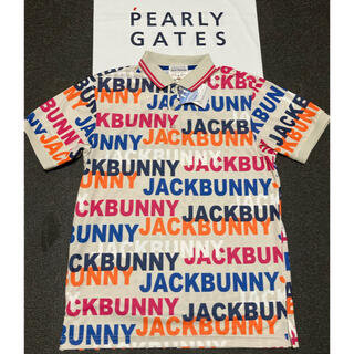 PEARLY GATES パーリーゲイツ JACK BUNNYロゴポロシャツ新品