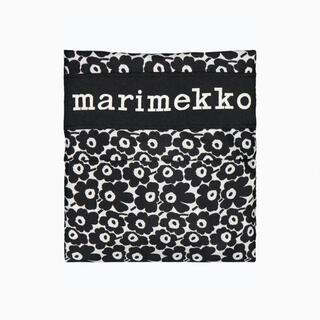 マリメッコ(marimekko)のマリメッコ トートバッグ エコバッグ ウニッコ 花柄 黒(エコバッグ)