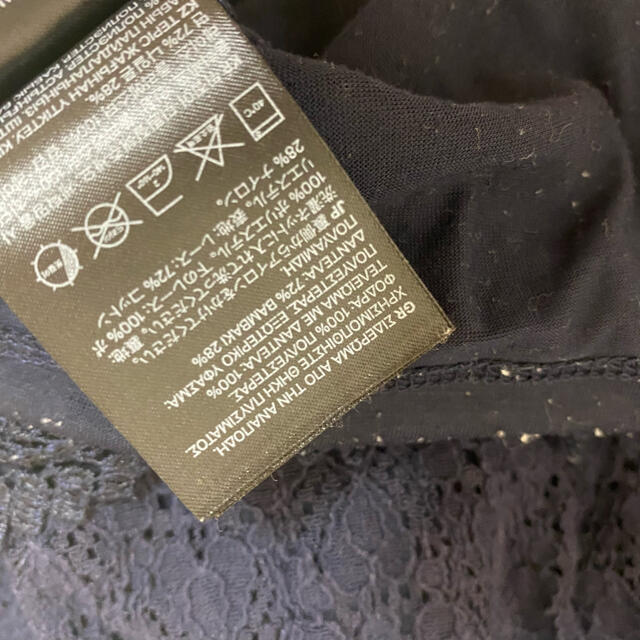 H&M(エイチアンドエム)のH&M★レースワンピース★キッズサイズ110センチ キッズ/ベビー/マタニティのキッズ服女の子用(90cm~)(ワンピース)の商品写真