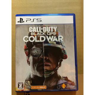 プレイステーション(PlayStation)のコールオブデューティ ブラックオプス コールドウォー PS5版 値下げ不可(家庭用ゲームソフト)