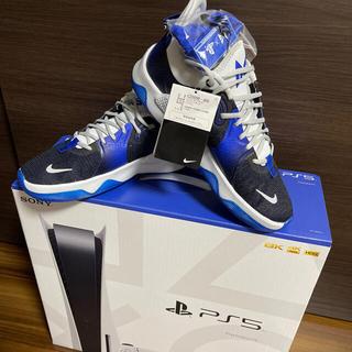 PlayStation - プレステ5本体➕プレステ5モデルバスケットボールシューズ 27.5