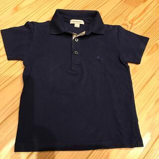 BURBERRY - バーバリー ポロシャツ紺