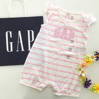 babyGAP - 新品♡今季♡baby gap♡ロンパース ロゴ ボーダー/ユニクロ ラルフ 他
