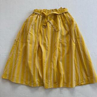 セブンデイズサンデイ(SEVENDAYS=SUNDAY)のセブンデイズサンデイ ストライプ柄スカート(ひざ丈スカート)