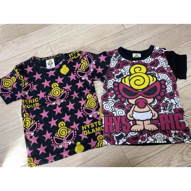 HYSTERIC MINI(ヒステリックミニ)のヒスミニ3枚セット  キッズ/ベビー/マタニティのベビー服(~85cm)(Tシャツ)の商品写真
