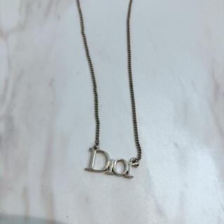 クリスチャンディオール(Christian Dior)のDior ディオール ネックレス ロゴ(ネックレス)