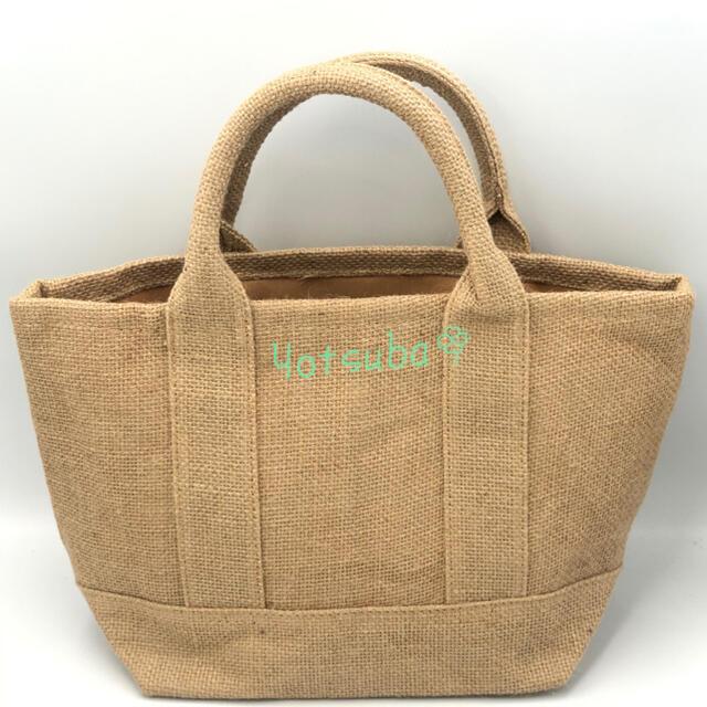 Ron Herman(ロンハーマン)のロンハーマン トートバッグ 麻 モカ(コーヒー)夏季限定 ミニトートバッグ 新品 レディースのバッグ(トートバッグ)の商品写真