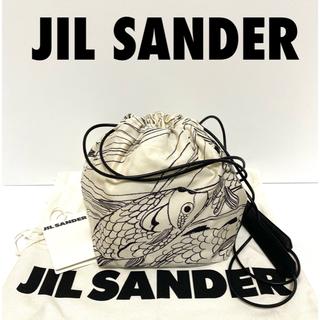 ジルサンダー(Jil Sander)の★新品未使用★希少!ジルサンダー ドローストリング巾着バッグ(ショルダーバッグ)