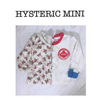 ヒステリックミニ(HYSTERIC MINI)のロンパース2枚セット(ロンパース)