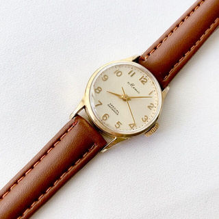 オリエント(ORIENT)のビンテージ ORIENT Mamie 17石 レディース手巻き腕時計 稼動品(腕時計)