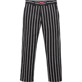 Supreme - [32] Supreme Work Pant Stripe Black