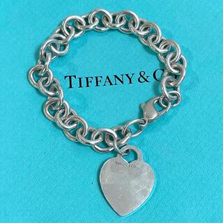 Tiffany & Co. - ティファニー ハート タグ チャーム ブレスレット スターリングシルバー925
