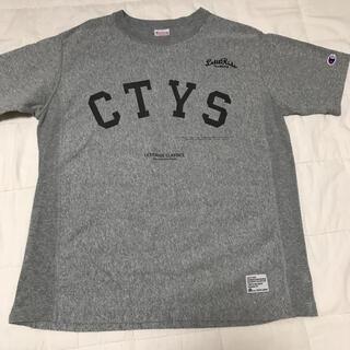 ナノユニバース(nano・universe)のTシャツ ナノユニバース✖️チャンピオンコラボ  M(Tシャツ/カットソー(半袖/袖なし))