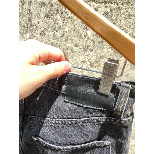 JOHN LAWRENCE SULLIVAN(ジョンローレンスサリバン)のJHONLAWRENCESULLIVAN ダブルジップデニム  メンズのパンツ(デニム/ジーンズ)の商品写真