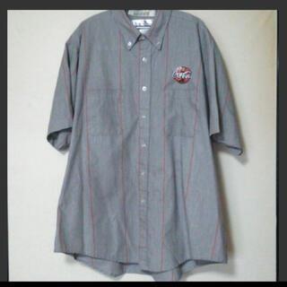 コカ・コーラ - レア 希少 コカ・コーラ バーコードタグ ワークシャツ シャツ 本物
