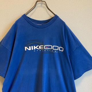ナイキ(NIKE)の90s NIKE ビッグ Tシャツ XXL ブルー ゆるだぼ vintage(Tシャツ/カットソー(半袖/袖なし))
