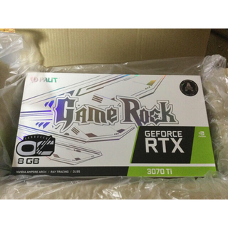 ★ほぼ新品!Palit  RTX 3070 Ti GameRock OC 8GB