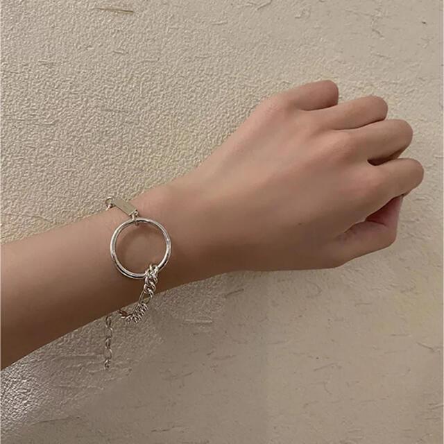 TODAYFUL(トゥデイフル)のcircle plate bracelet レディースのアクセサリー(ブレスレット/バングル)の商品写真