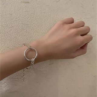TODAYFUL - circle plate bracelet