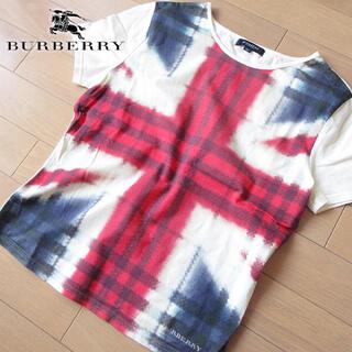 BURBERRY - 超美品 SP バーバリーロンドン レディース 半袖Tシャツ アイボリー