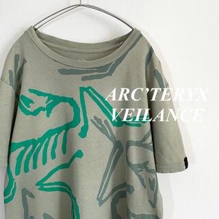 ARC'TERYX - ARCTERYXVEILANCE アークテリクスヴェイランス 始祖鳥 プリントT