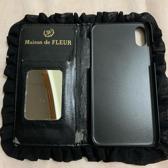 Maison de FLEUR(メゾンドフルール)のメゾンドフルール iPhoneX.Xsケース スマホ/家電/カメラのスマホアクセサリー(iPhoneケース)の商品写真