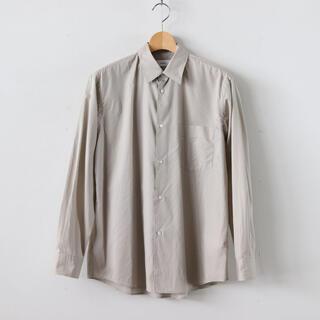 COMOLI - graphpaper broad regular collar shirt