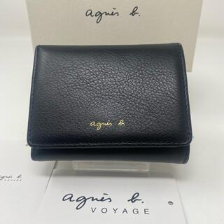 agnes b. - agnes b.  voyage アニエスベー ミニ財布 ブラック 黒