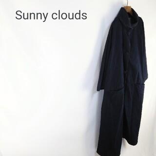 フェリシモ(FELISSIMO)のSunny Clouds デニムコクーンコート(ロングコート)