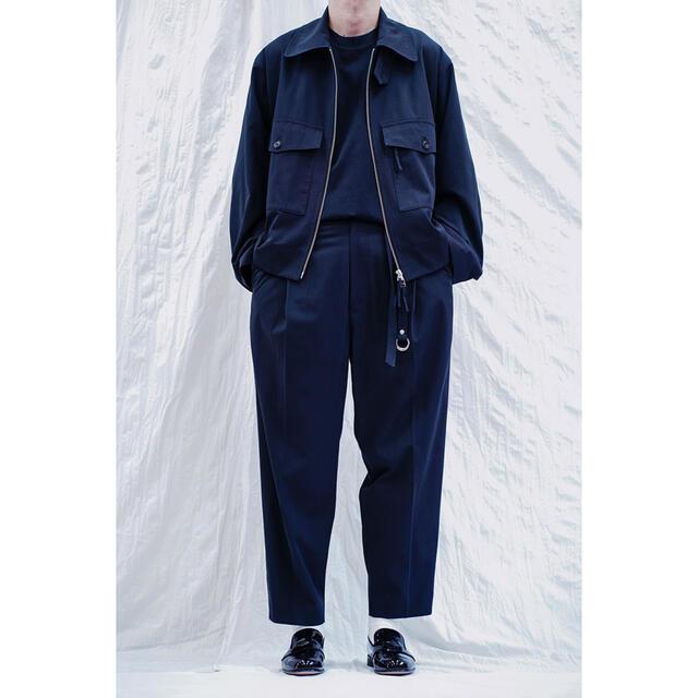 COMOLI(コモリ)のURU 20ss セットアップ ネイビー サイズ1 メンズのスーツ(セットアップ)の商品写真