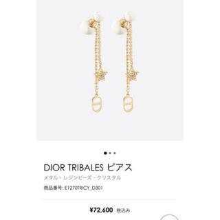 Christian Dior - Christian dior ピアス