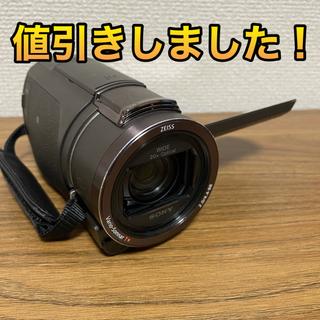 SONY - 【4K】FDR-AX40 TI ブロンズブラウン 使用回数少な目 【当日発送】